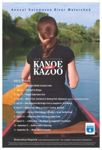 2013 Kanoe the Kazoo schedule
