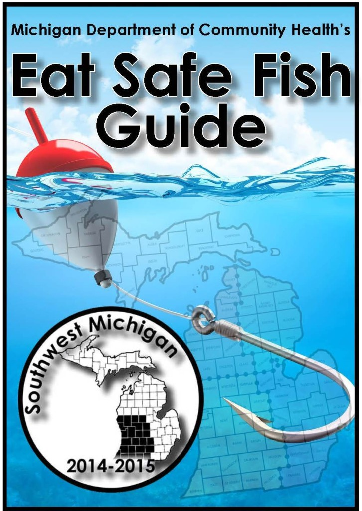 Eat safe fish guide kalamazoo river watershed council for Safe fish to eat