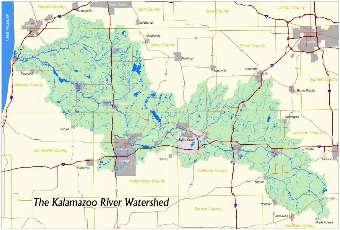 Whats a Watershed Kalamazoo River Watershed Council